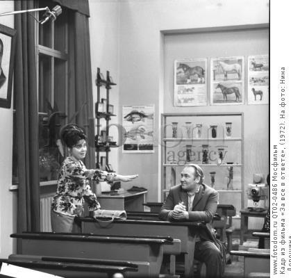 Кадр из фильма «За все в ответе», (1972). На фото: Нина Дорошина.