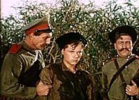Кадр из фильма «Школа мужества», (1954). На фото: