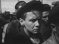 Кадр из фильма «Тугой узел», (1956). На фото: Олег