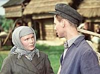 Кадр из фильма «Тугой узел», (1956). На фото: Вале