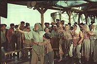 Кадр из фильма «Вольница», (1955). На фото: Валент
