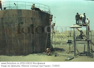 Кадр из фильма «Белое солнце пустыни», (1969).