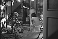 Съемки фильма: 'Карнавальная ночь', (1956).