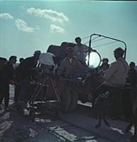 Леонид Гайдай. Рабочие моменты на съемочной площад
