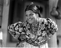 Кадр из фильма «Тихий Дон», (1930). На фото: Эмма