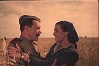Кадр из фильма «Три встречи», (1948). На фото: Там