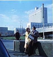 Кадры из фильмов с видами Москвы