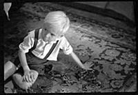 Кадр из фильма «Сережа», (1960).