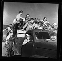 Кадр из фильма «Друг мой, Колька!..», (1961).