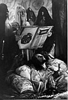 Кадр из фильма: 'Иван Грозный'. (1944). На фото: Н