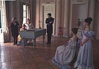Кадр из фильма «Барышня-крестьянка», (1995).