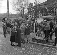 Съемки фильма «Грешница», (1962). На фото: Гавриил