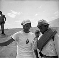 Съемки фильма «Белое солнце пустыни», (1970)