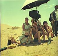 Съемки фильма «Белое солнце пустыни», (1970).