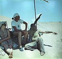Съемки фильма «Белое солнце пустыни», (1970). На ф