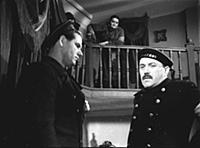 Кадр из фильма «Тревожная ночь», (1958). На фото:
