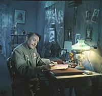 Кадр из фильма «Три встречи», (1948). На фото: Бор
