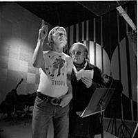 Кадр из фильма «Маяковский смеется», (1975). На фо