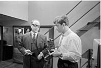 Кадр из фильма «Лебедев против Лебедева», (1965).