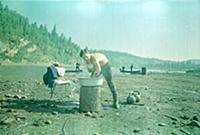 Кадр из фильма «Хозяин тайги», (1968). На фото: Вл