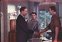 Кадр из фильма «Аттестат зрелости», (1954). На фот