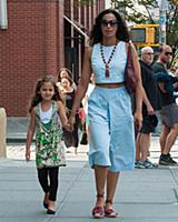 Padma Lakshmi and Krishna Lakshmi-Dell out and abo