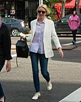 Naomi Watts and Myfanway Watts go on stroll on Nao
