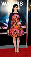 Actress/singer Lena Hall attends the New York prem