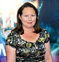 Producer Claire Spencer attends the New York premi