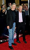 Musicians Roger Waters and Eric Mason attends the