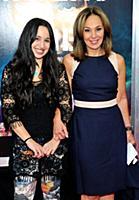 TV journalist Rosanna Scotto and daughter Jenna at