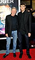 Musician Roger Waters and son Jack attend the New