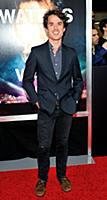 Actor Thomas Matthews attends the New York premier