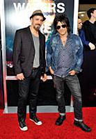 Musicians Nick Pagono (L) and Steve Conte (R) atte