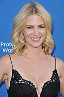 January Jones arrives at 'A Concert For Our Oceans