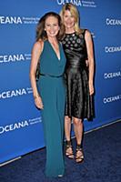 (L-R) Diane Lane and Laura Dern arrives at 'A Conc
