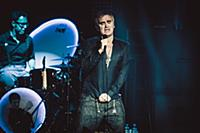 The english singer Morrissey performs at the Theat