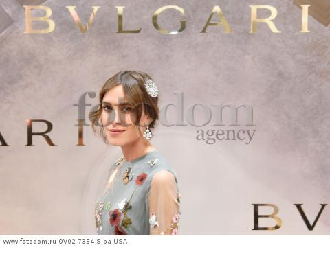Alexa Chung - 10/14/2015 - New York, New York - BVLGARI & ROME: ETERNAL INSPIRATION held at BVLGARI, NYC. (Photo by Neil Rasmus/BFA) *** Please Use Credit from Credit Field ***