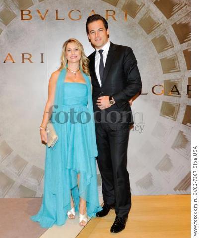 Fiona Paltridge, Daniel Paltridge - 10/14/2015 - ,  - BVLGARI & ROME: ETERNAL INSPIRATION held at . (Photo by Leandro Justen/BFA) *** Please Use Credit from Credit Field ***