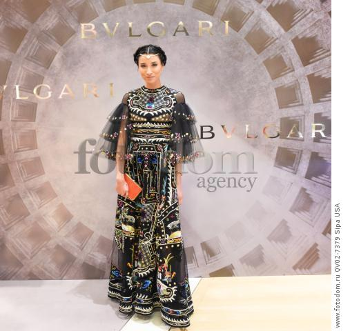 Lily Kwong - 10/14/2015 - New York, New York - BVLGARI & ROME: ETERNAL INSPIRATION held at BVLGARI, NYC. (Photo by Neil Rasmus/BFA) *** Please Use Credit from Credit Field ***