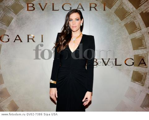 Liv Tyler - 10/14/2015 - ,  - BVLGARI & ROME: ETERNAL INSPIRATION held at . (Photo by Leandro Justen/BFA) *** Please Use Credit from Credit Field ***