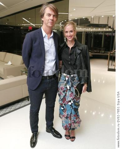 Sean MacPherson, Rachelle Hruska MacPherson - 10/13/2015 - New York, New York - CFDA x VOGUE: FASHION FUND DESIGN CHALLENGE COCKTAIL held at One World Trade Center, NYC. (Photo by Matteo Prandoni/BFA) *** Please Use Credit from Credit Field ***