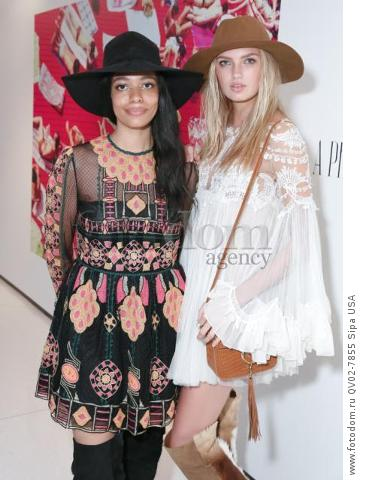 Aurora James - 10/13/2015 - New York, New York - CFDA x VOGUE: FASHION FUND DESIGN CHALLENGE COCKTAIL held at One World Trade Center, NYC. (Photo by Matteo Prandoni/BFA) *** Please Use Credit from Credit Field ***