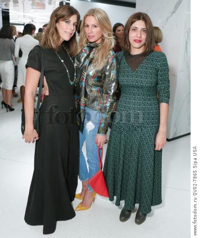 Irene Newark, Jennifer Fisher, Sofia Sizzi - 10/13/2015 - New York, New York - CFDA x VOGUE: FASHION FUND DESIGN CHALLENGE COCKTAIL held at One World Trade Center, NYC. (Photo by Matteo Prandoni/BFA) *** Please Use Credit from Credit Field ***