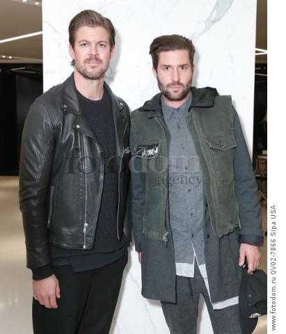 Matt Baldwin - 10/13/2015 - New York, New York - CFDA x VOGUE: FASHION FUND DESIGN CHALLENGE COCKTAIL held at One World Trade Center, NYC. (Photo by Matteo Prandoni/BFA) *** Please Use Credit from Credit Field ***
