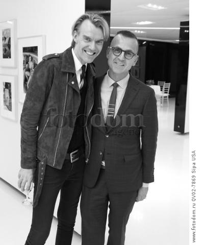 Kevin Downing, Steven Kolb - 10/13/2015 - New York, New York - CFDA x VOGUE: FASHION FUND DESIGN CHALLENGE COCKTAIL held at One World Trade Center, NYC. (Photo by Matteo Prandoni/BFA) *** Please Use Credit from Credit Field ***