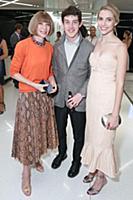 Anna Wintour, Alex Sharp, Wallis Currie-Wood - 10/