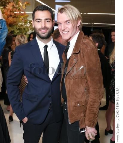 Jonathan Simkhai, Kevin Downing - 10/13/2015 - New York, New York - CFDA x VOGUE: FASHION FUND DESIGN CHALLENGE COCKTAIL held at One World Trade Center, NYC. (Photo by Matteo Prandoni/BFA) *** Please Use Credit from Credit Field ***