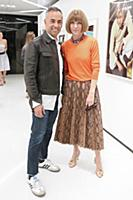Francisco Costa, Anna Wintour - 10/13/2015 - New Y