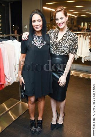 NJ Goldston, Liz Goldwyn - 10/21/2015 - Los Angeles, California - EQUIPMENT & VOGUE WITH LIZ GOLDWYN held at Equipment Boutique, Los Angeles,. (Photo by Owen Kolasinski/BFA) *** Please Use Credit from Credit Field ***
